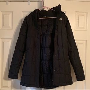 North Face insulated down jacket